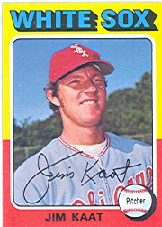 1975 Topps Mini Baseball Cards      243     Jim Kaat