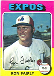 1975 Topps Mini Baseball Cards      270     Ron Fairly