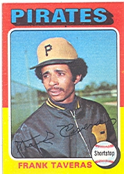 1975 Topps Mini Baseball Cards      277     Frank Taveras