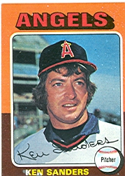 1975 Topps Mini Baseball Cards      366     Ken Sanders