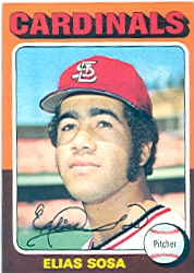 1975 Topps Mini Baseball Cards      398     Elias Sosa