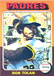 1975 Topps Mini Baseball Cards      402     Bob Tolan