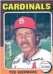 1975 Topps Baseball Cards      404     Ted Sizemore