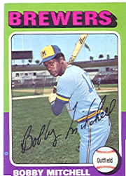 1975 Topps Baseball Cards      468     Bobby Mitchell