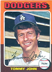 1975 Topps Mini Baseball Cards      047      Tommy John