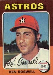 1975 Topps Mini Baseball Cards      479     Ken Boswell