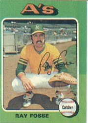 1975 Topps Mini Baseball Cards      486     Ray Fosse