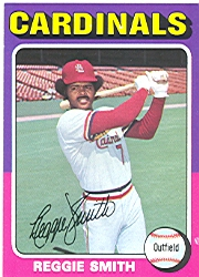 1975 Topps Mini Baseball Cards      490     Reggie Smith