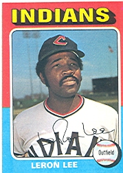1975 Topps Mini Baseball Cards      506     Leron Lee
