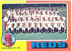 1975 Topps Baseball Cards      531     Cincinnati Reds CL/Sparky Anderson
