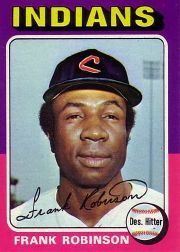 1975 Topps Mini Baseball Cards      580     Frank Robinson