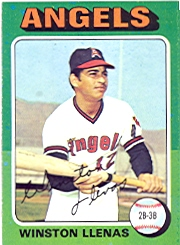 1975 Topps Mini Baseball Cards      597     Winston Llenas