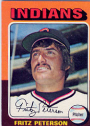 1975 Topps Baseball Cards      062      Fritz Peterson