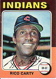 1975 Topps Mini Baseball Cards      655     Rico Carty
