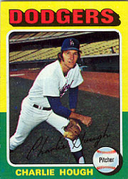 1975 Topps Mini Baseball Cards      071      Charlie Hough