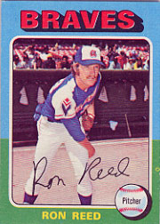 1975 Topps Baseball Cards      081      Ron Reed