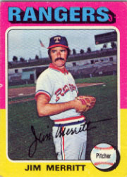 1975 Topps Mini Baseball Cards      083      Jim Merritt