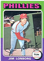 1975 Topps Mini Baseball Cards      094      Jim Lonborg