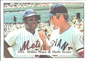 1976 SSPC       595     Willie Mays#{Herb Score CL