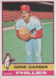1976 Topps Baseball Cards      014      Gene Garber