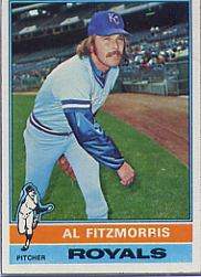 1976 Topps Baseball Cards      144     Al Fitzmorris