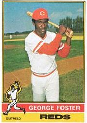 1976 Topps Baseball Cards      179     George Foster