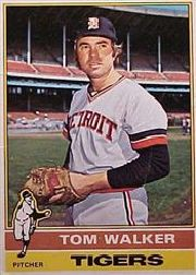 1976 Topps Baseball Cards      186     Tom Walker