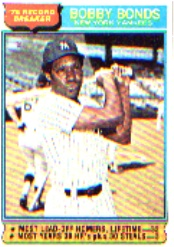 1976 Topps Baseball Cards      002       Bobby Bonds RB