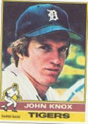 1976 Topps Baseball Cards      218     John Knox