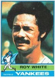 1976 Topps Baseball Cards      225     Roy White