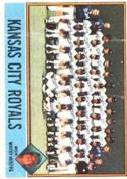 1976 Topps Baseball Cards      236     Kansas City Royals CL/Whitey Herzog
