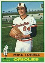 1976 Topps Baseball Cards      025      Mike Torrez