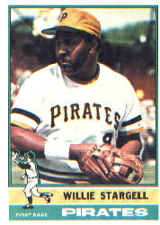 1976 Topps Baseball Cards      270     Willie Stargell