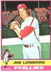 1976 Topps Baseball Cards      271     Jim Lonborg