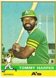 1976 Topps Baseball Cards      274     Tommy Harper