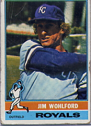 1976 Topps Baseball Cards      286     Jim Wohlford