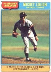1976 Topps Baseball Cards      003       Mickey Lolich RB