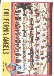 1976 Topps Baseball Cards      304     California Angels CL/Dick Williams