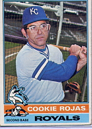 1976 Topps Baseball Cards      311     Cookie Rojas