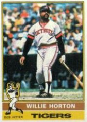 1976 Topps Baseball Cards      320     Willie Horton