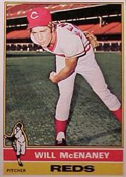 1976 Topps Baseball Cards      362     Will McEnaney