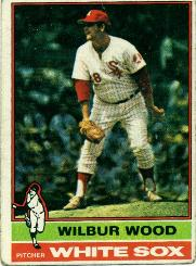 1976 Topps Baseball Cards      368     Wilbur Wood