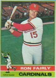 1976 Topps Baseball Cards      375     Ron Fairly