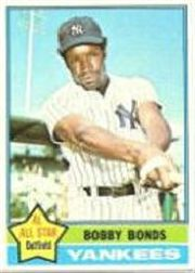 1976 Topps Baseball Cards      380     Bobby Bonds