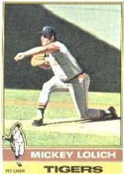 1976 Topps Baseball Cards      385     Mickey Lolich