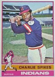 1976 Topps Baseball Cards      408     Charlie Spikes
