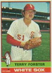 1976 Topps Baseball Cards      437     Terry Forster