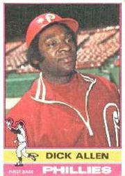 1976 Topps Baseball Cards      455     Dick Allen