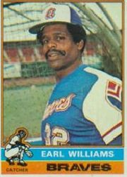 1976 Topps Baseball Cards      458     Earl Williams