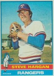 1976 Topps Baseball Cards      463     Steve Hargan